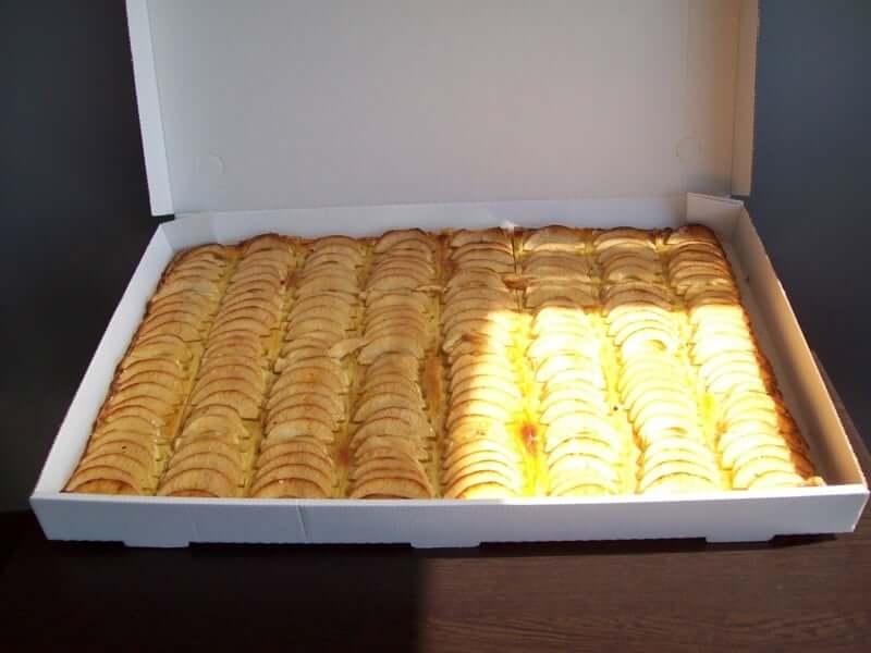 plaque tarte aux pommes 1