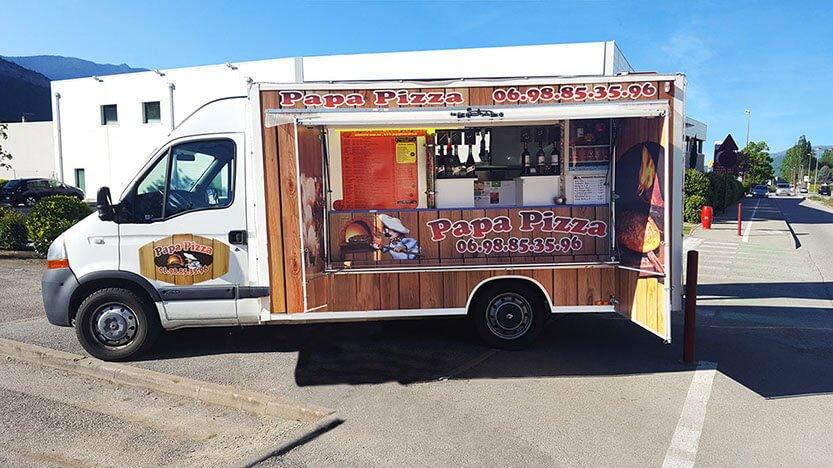 MASTER camion papa pizza